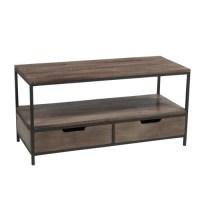 Table basse rectangulaire bois et metal - Achat / Vente ...
