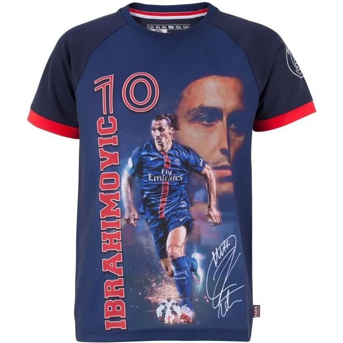 Maillot Exterieur Psg 2017 Maillot Psg - Zlatan Ibrahimovic - Collection Officielle