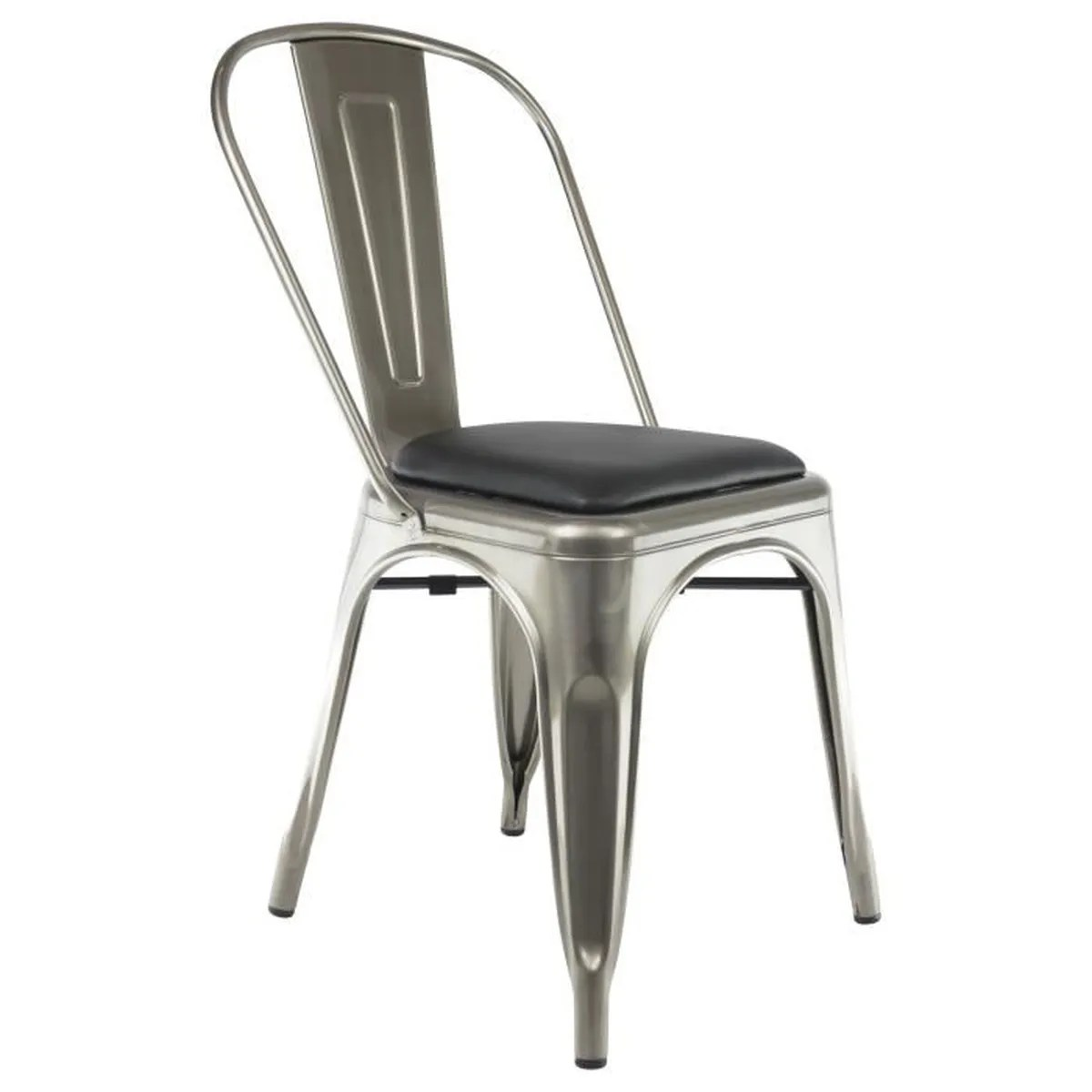 Chaises Privee Chaise Privee Chaise Industrielle Bistro Gris Brut