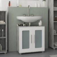 Meuble salle de bain avec vasque de 60 cm de largeur ...