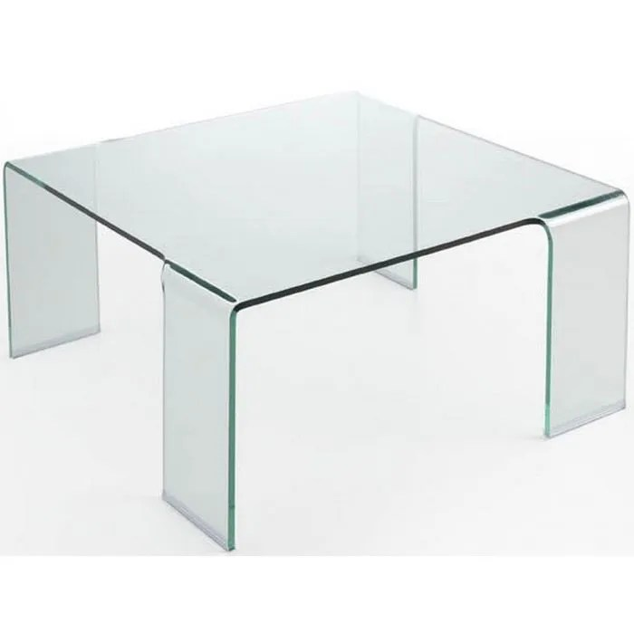 Table Basse Carrée Verre Table Verre Carree