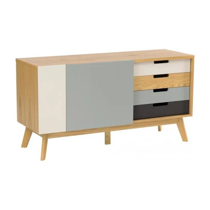Meuble Buffet Scandinave Buffet Bas Scandinave