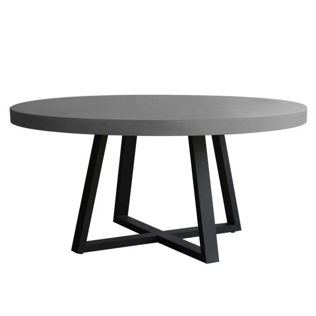 Table Ronde 140 Cm Table Ronde Mahuru 140 Cm Achat Vente Table A Manger