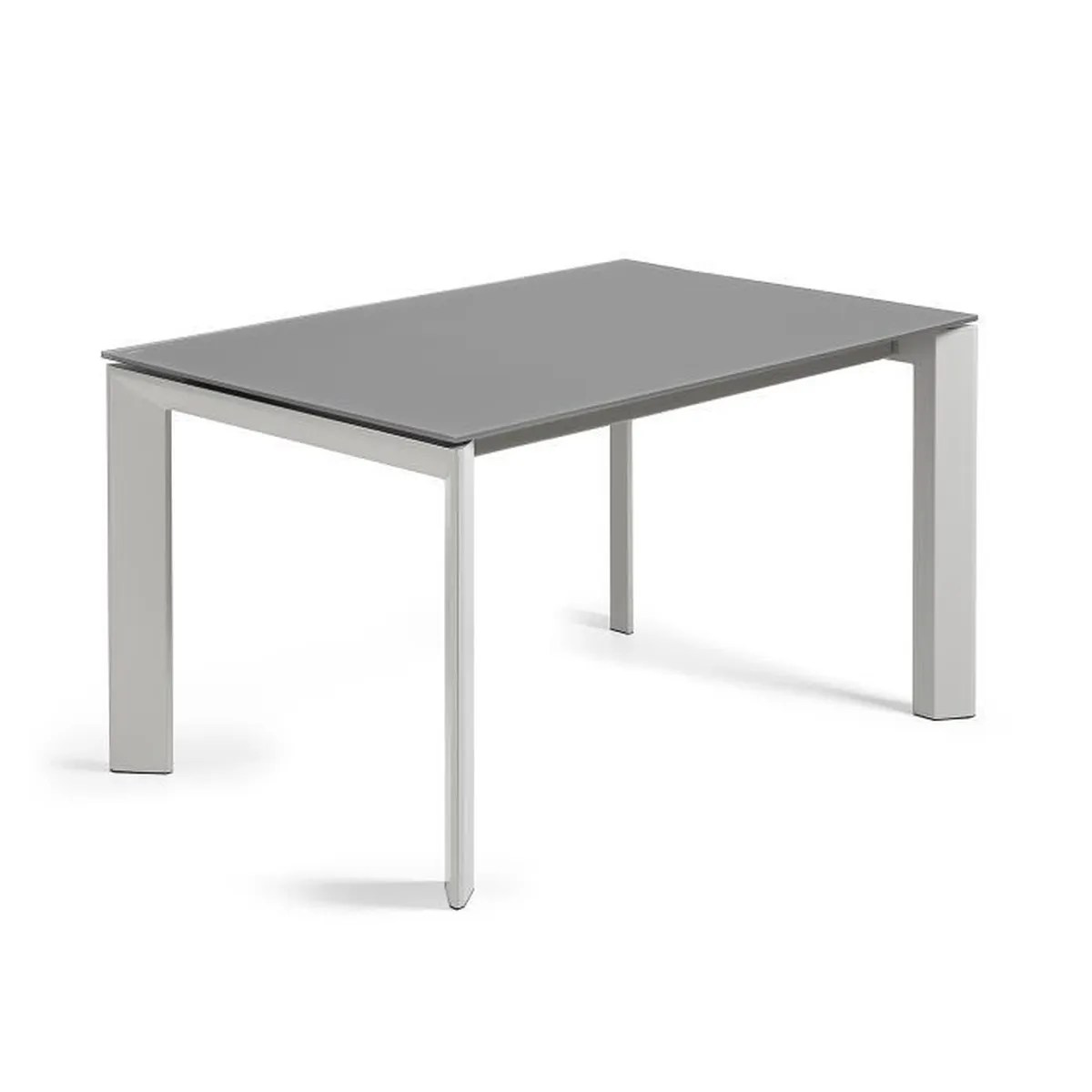 Table à Manger 140 X 90 Table Extensible Axis Gris 140 200 X90 Cm Achat Vente Table