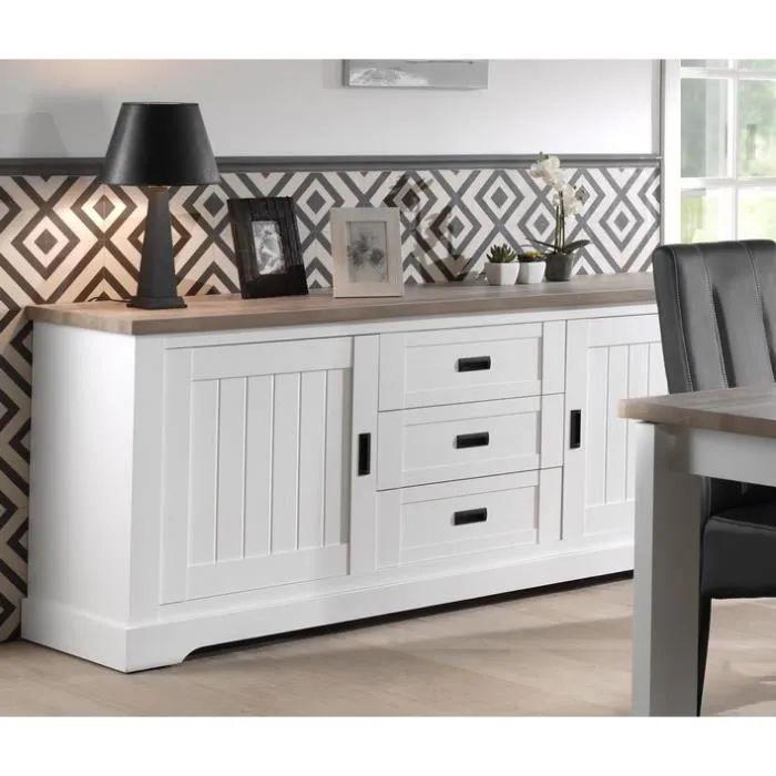 meuble salle manger blanc