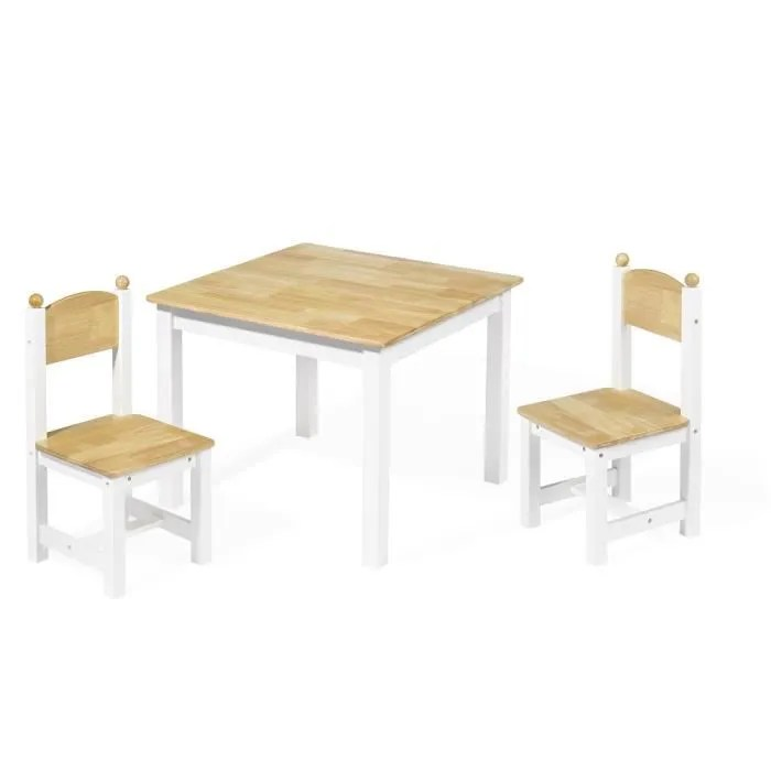 Table Et Chaise Cdiscount Table Chaise Enfant Bois - Achat / Vente Table Chaise