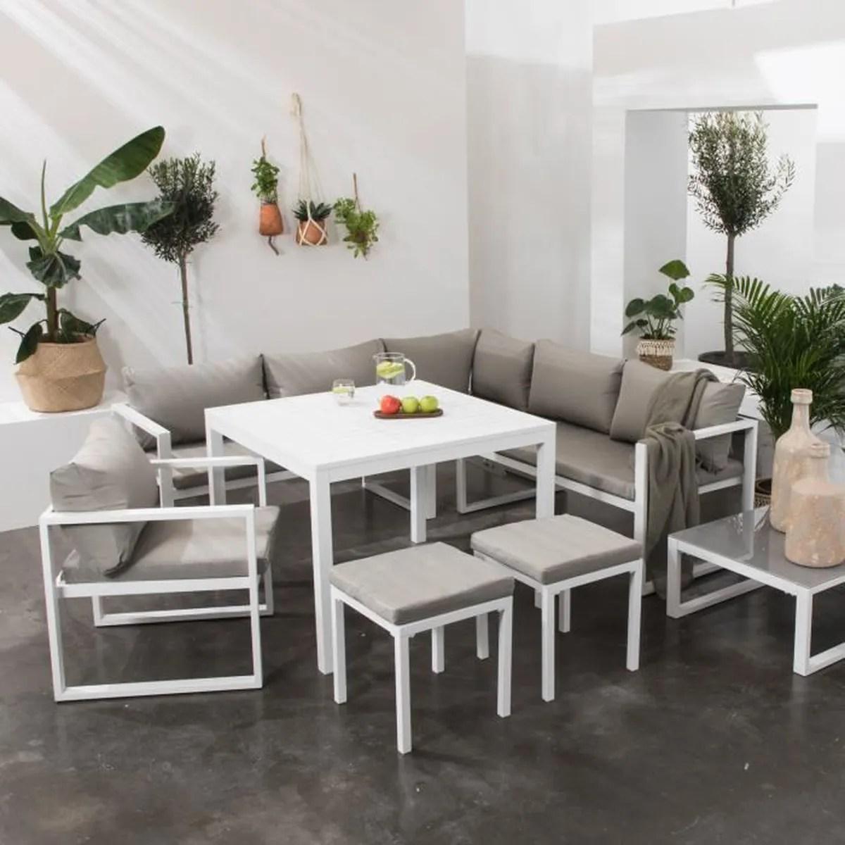 Salon De Jardin Design Pas Cher   Table Salon De Jardin Plastique ...