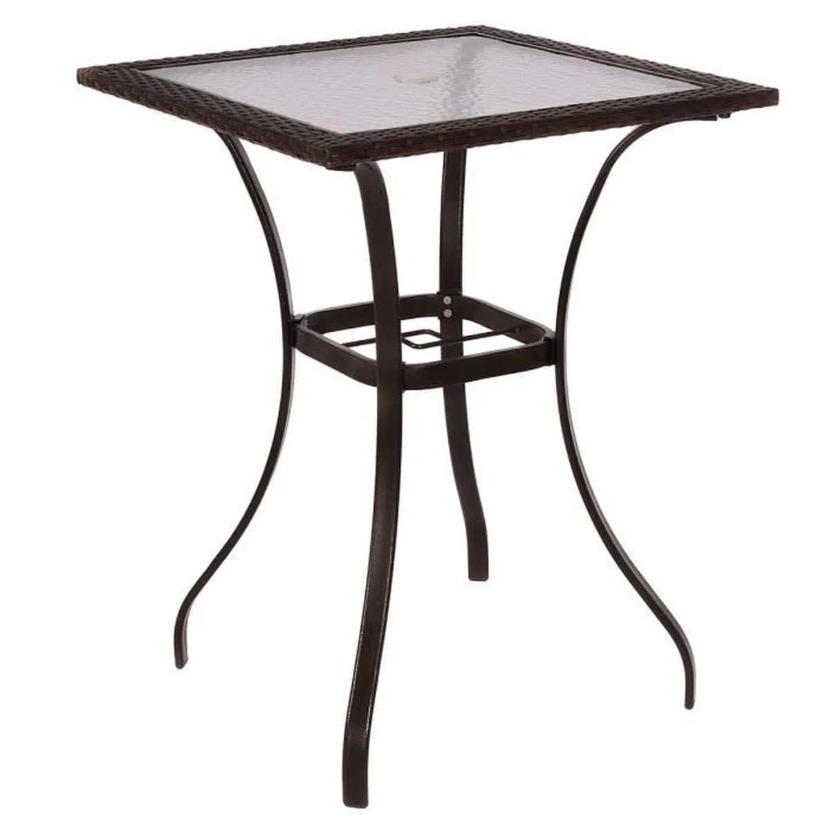 Table De Jardin En Rotin Tables Meubles Poly Rotin De Jardin Achat Vente Table