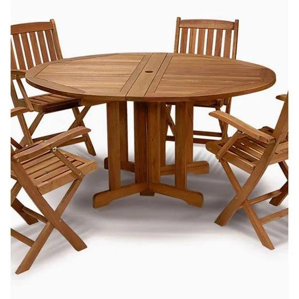 Table De Jardin Bois Exotique