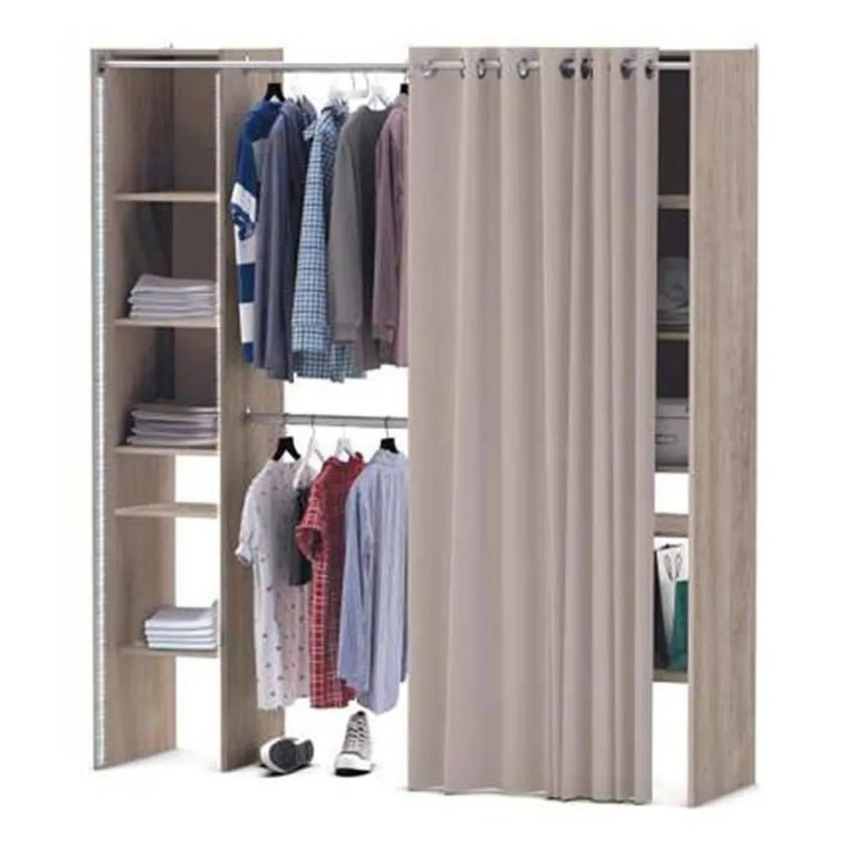 Armoire Dressing Cdiscount Dressing Achat Vente Dressing Pas Cher Cdiscount