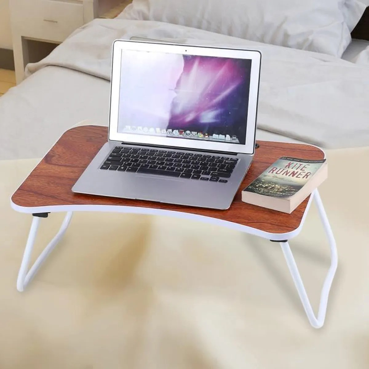 Tablette Bureau Support Pc Et Tablette Bureau Table De Lit Lapto Plateau