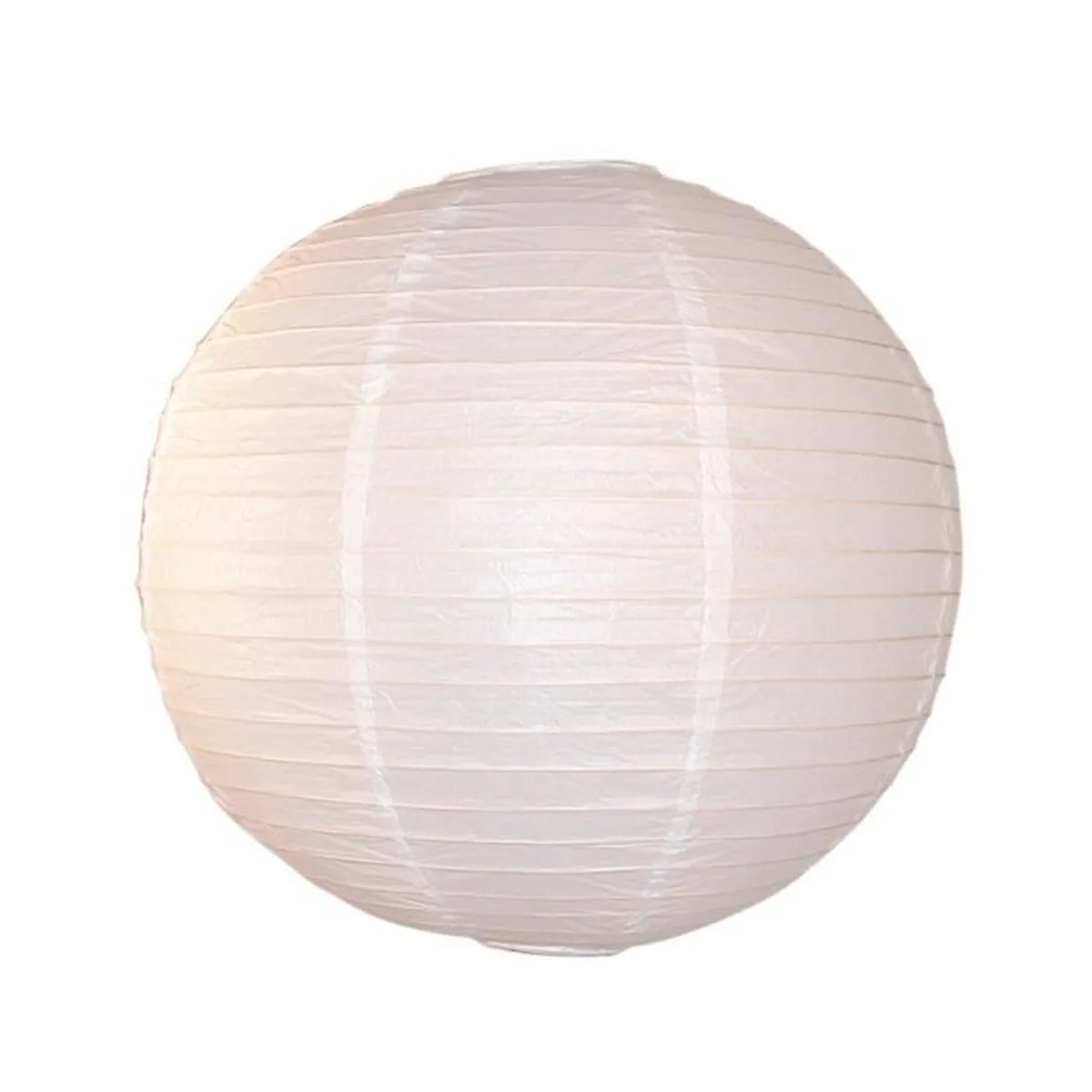 Suspension Papier Japonais Suspension Boule Japonaise En Papier Blanc Diamètre 60cm Ball