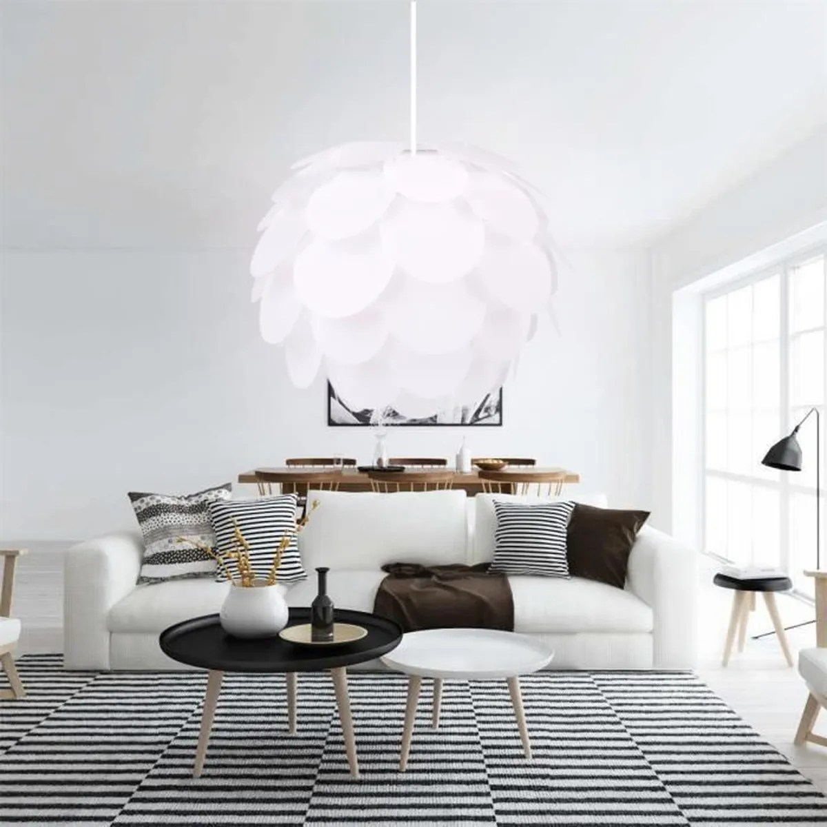 Lustre Pour Grand Plafond Excelvan Creative Diy Lustre Suspension Lumière Lampe Art
