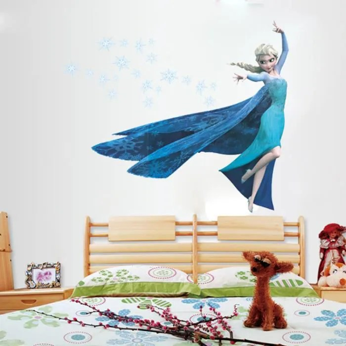 Sticker Mural Reine Des Neiges Achat Vente Stickers - Sticker Mural Reine Des Neiges