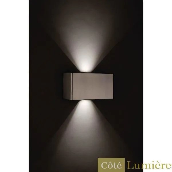 Applique Murale Exterieur Led Philips Ledino Philips - Applique Murale Lantern Inox Led - Achat