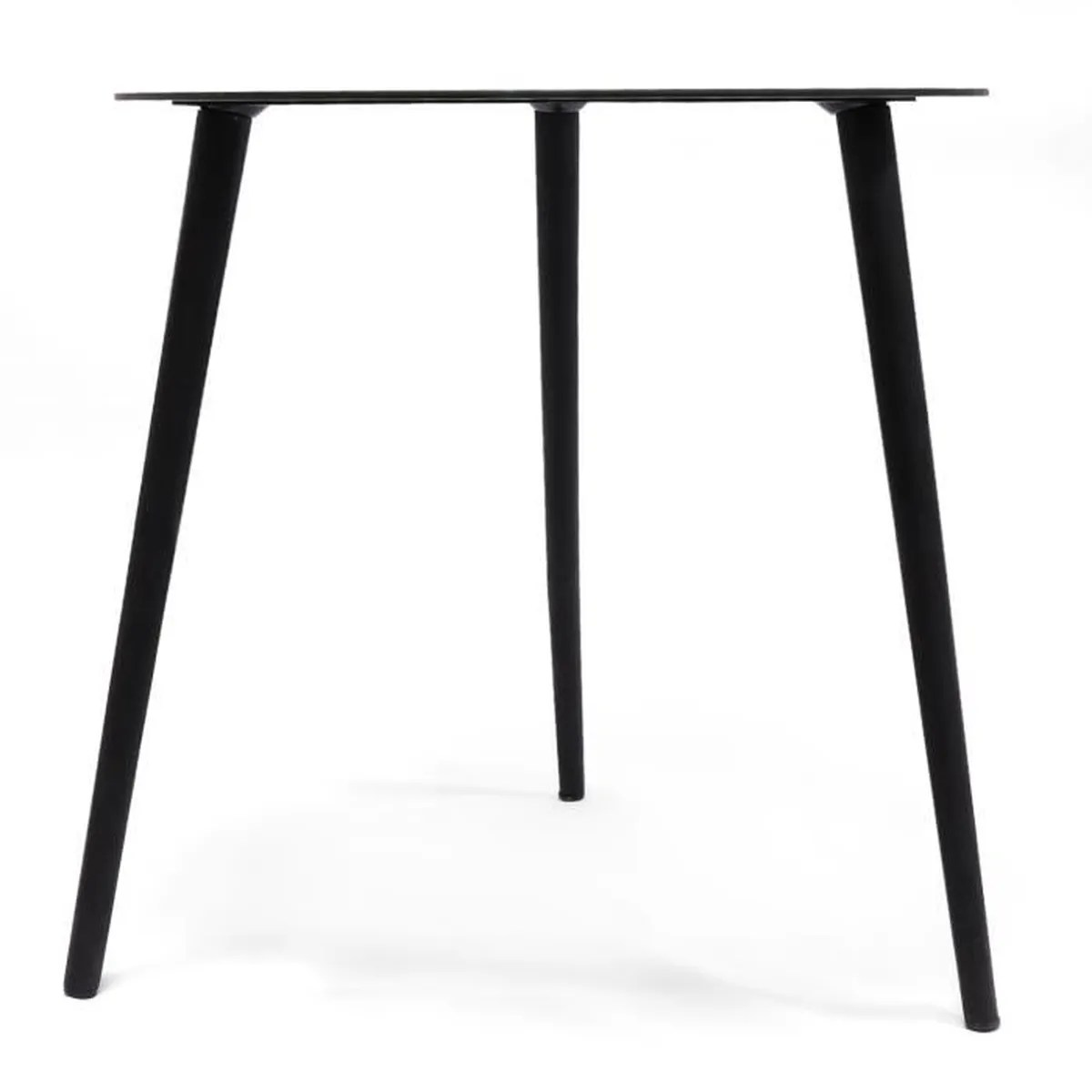 Table Scandinave Noire Jonas Petite Table Ronde Basse Scandinave En Ver