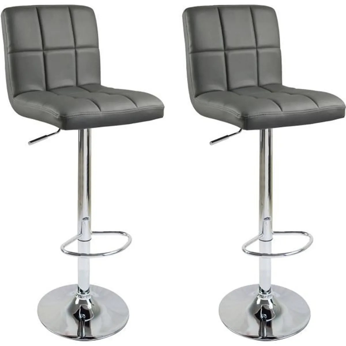 Tabourets Ilot Central Lot De 2 Tabourets De Bar Ilot Central Cuisine Bistrot 2