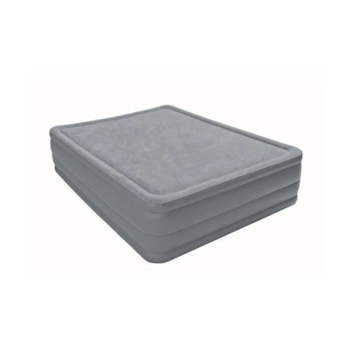 Matelas Intex 2 Places Matelas Gonflable Electrique Intex Foam Top Fiber Tech Visco 2