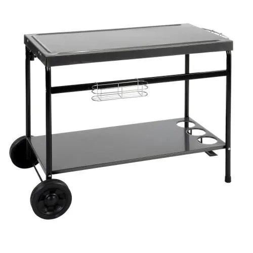 Magasin Hesperide Desserte Mobile Layia Pour Plancha Hesperide - Achat