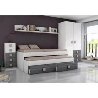 Lit Double Avec Tiroirs - Maison Design - Wiblia.com