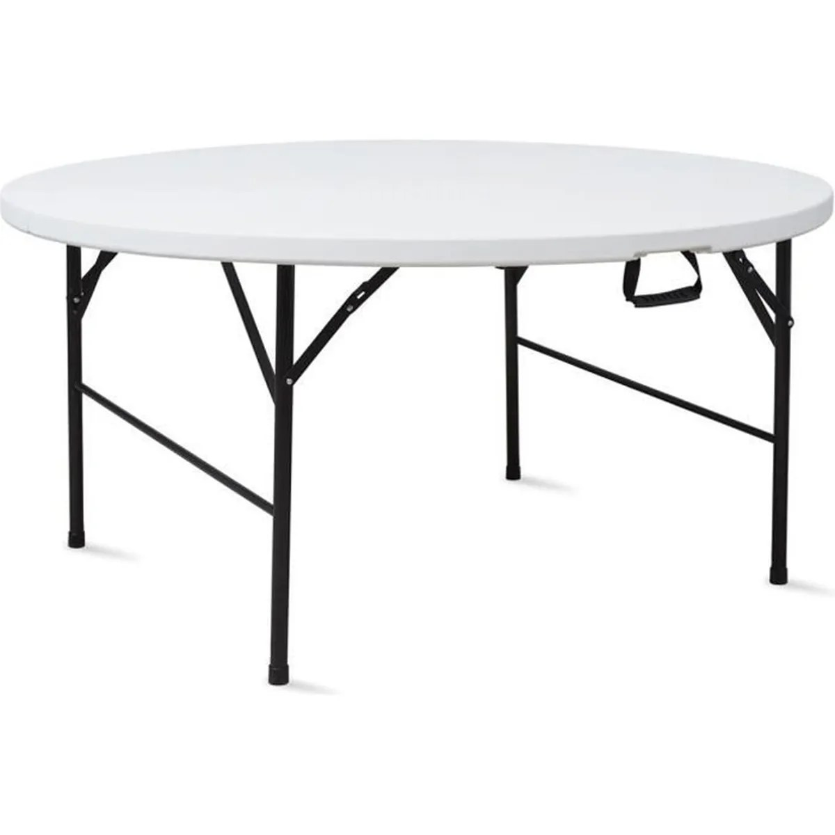 Table Pvc Exterieur Table Pliante Ronde 180 Cm Portable Achat Vente Table De