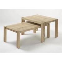 Table basse chene sonoma clair - Achat / Vente Table basse ...