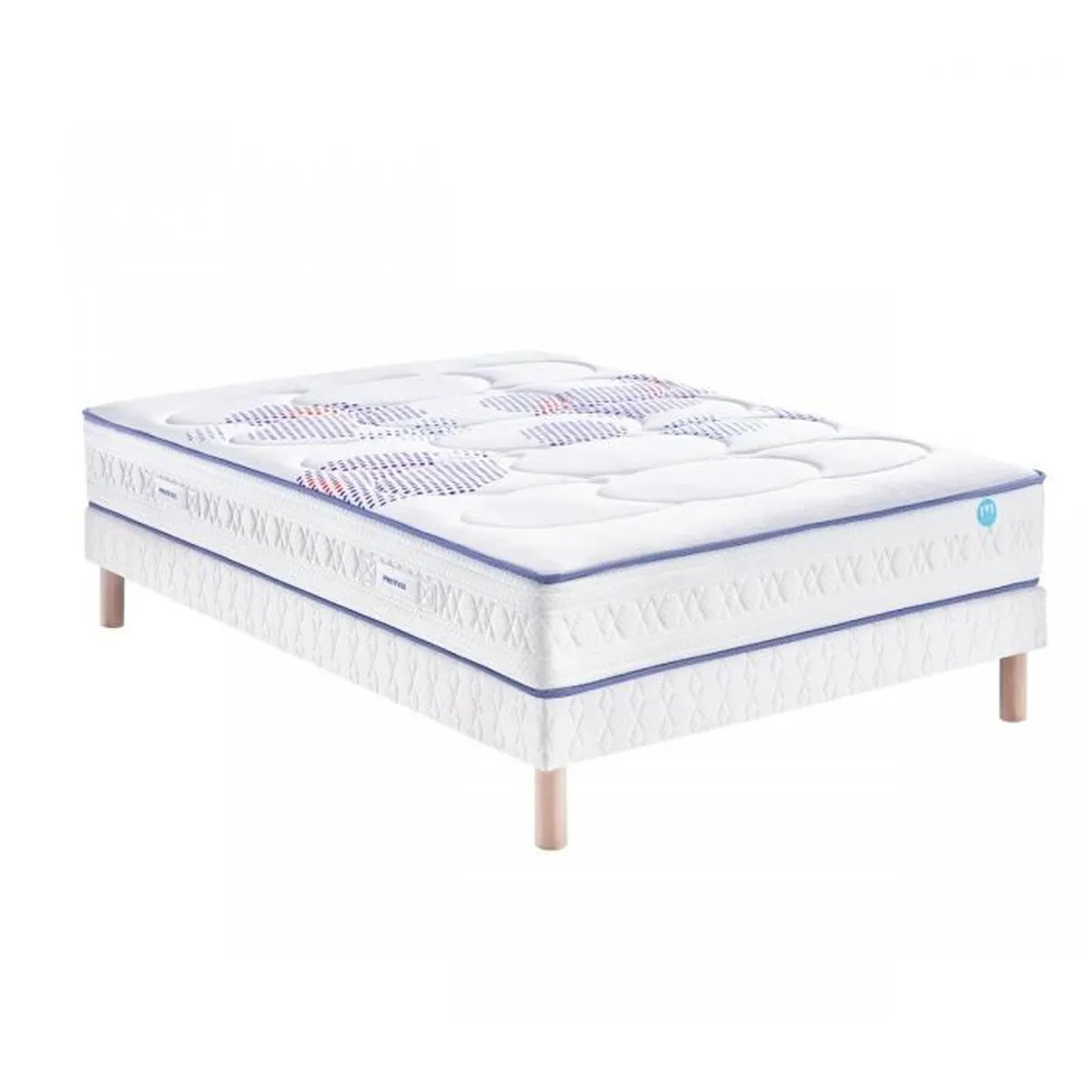 Matelas Grand Confort Ensemble Matelas Ressorts Merinos Chilly Wave Confort