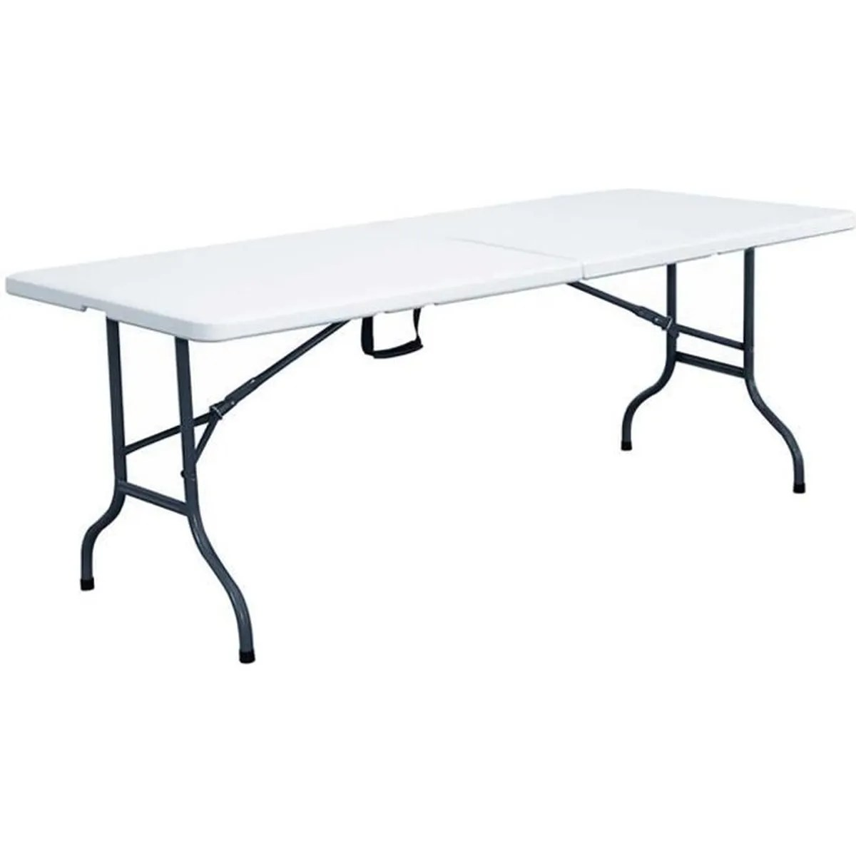 Pied Table Pliant Table Pliante Transportable 12 Personnes 244 Cm Achat Vente