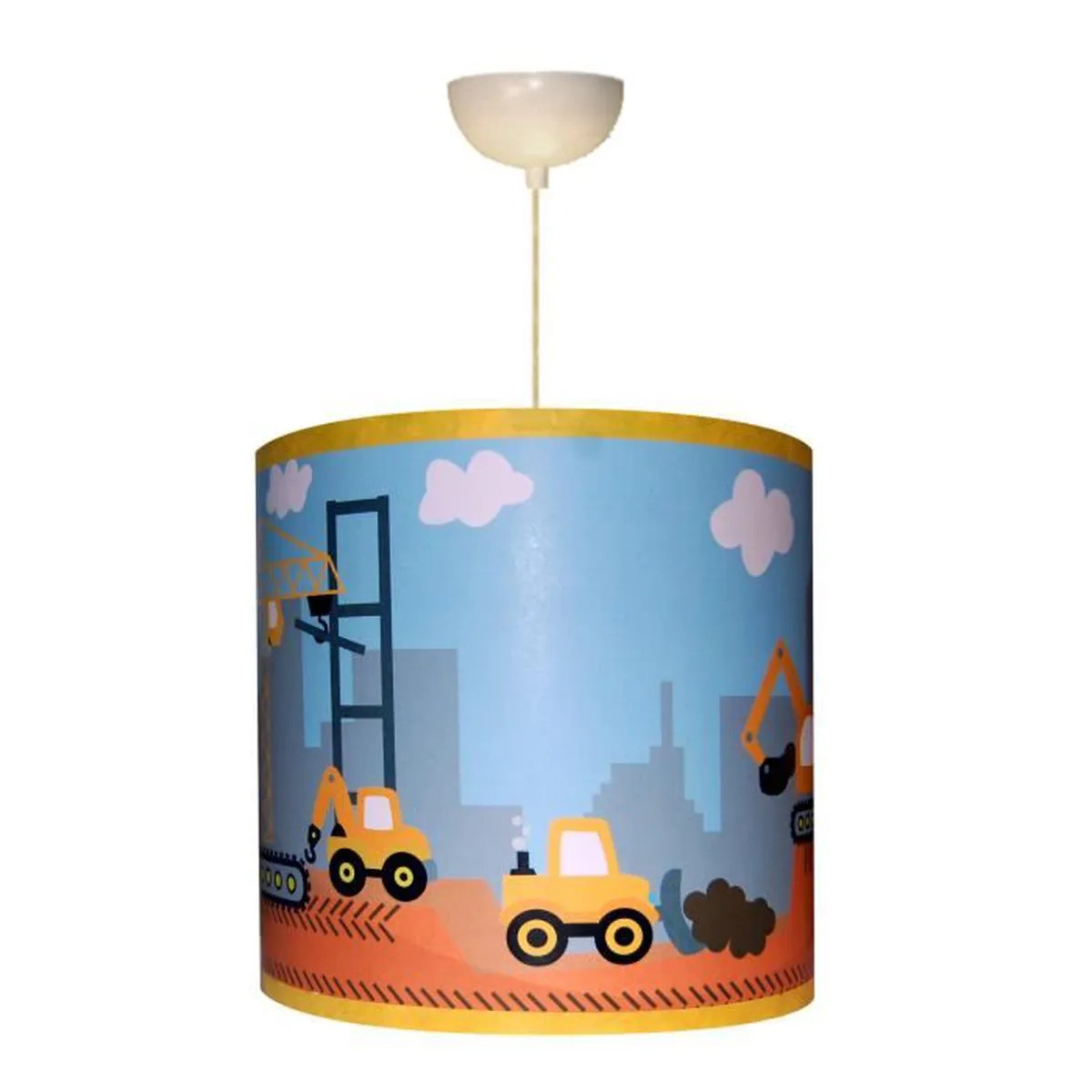 Lampe Suspension Enfant Suspension Enfant Quotchantier En Cours Quot Achat Vente