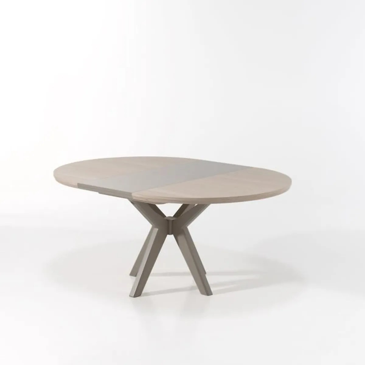 Table Ronde Allonges Table Ronde Avec Allonge Portefeuille Stonegrey Achat Vente