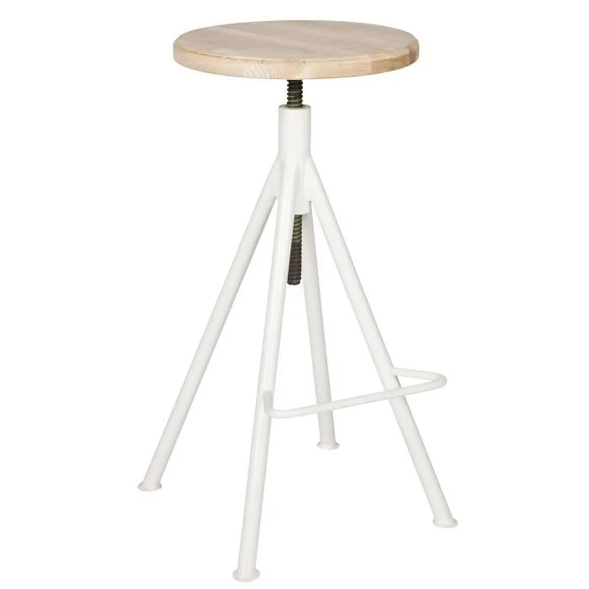 Tabouret Haut Blanc Great Tabouret De Bar Bois Blanc With Tabouret Bar Bois Blanc