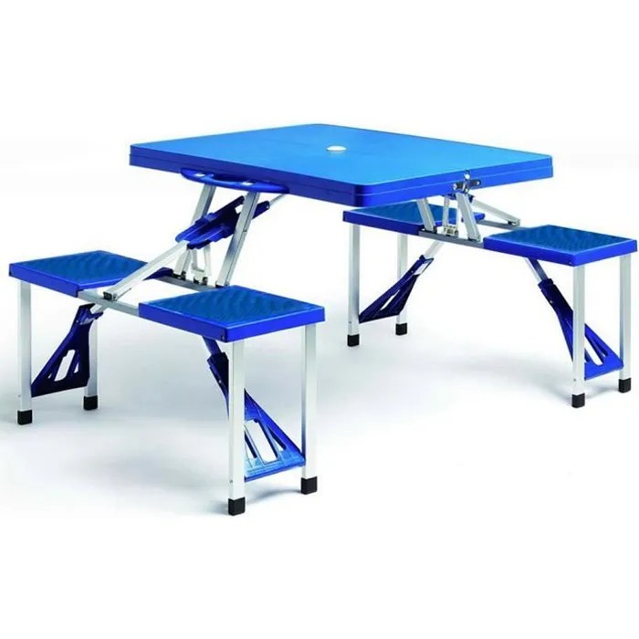 Lidl Table Pliante Table Chaises Pliant Jardin Ensemble Pique Nique Camping