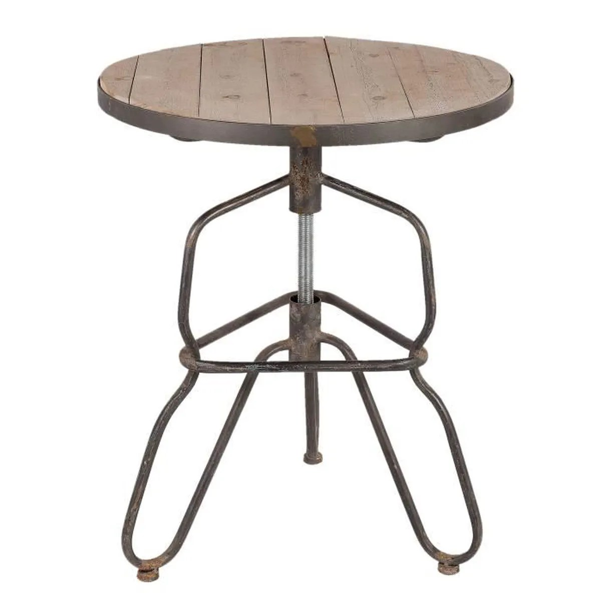 Table Bistrot Fer Forgé Table Bistrot Industrielle Achat Vente Table D Appoint Table