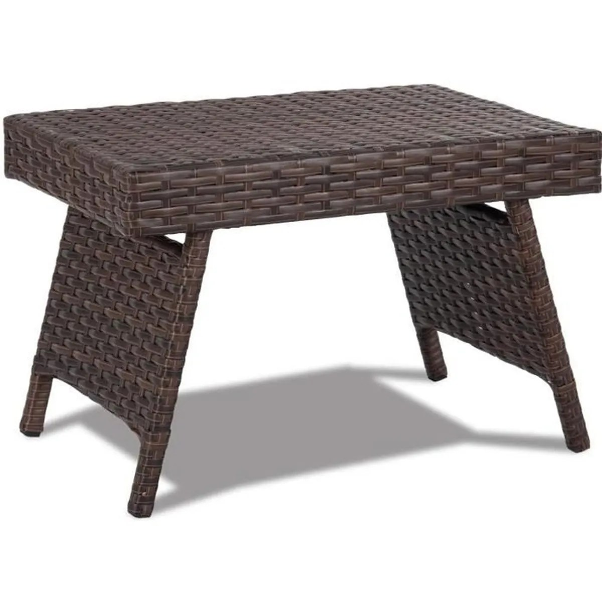 Tables De Salon En Rotin Table Basse De Table Thé Table Pliante Table En Osier Jardin Table