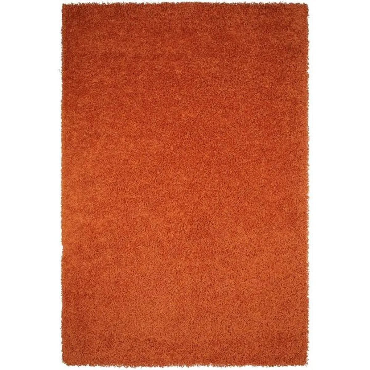Tapis Shaggy Orange Tapis Shaggy à Poils Longs Cambria Orange 80x150 Cm Tapis