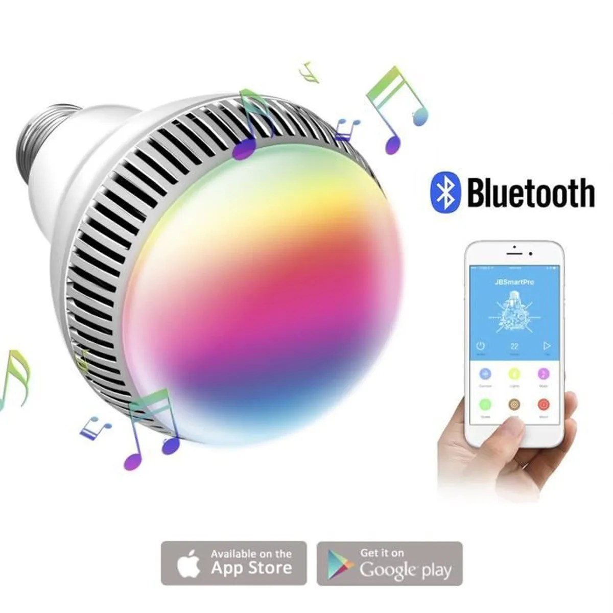 Ampoule Couleur Ampoule Connectée Morpilot Ampoule Bluetooth Encenite