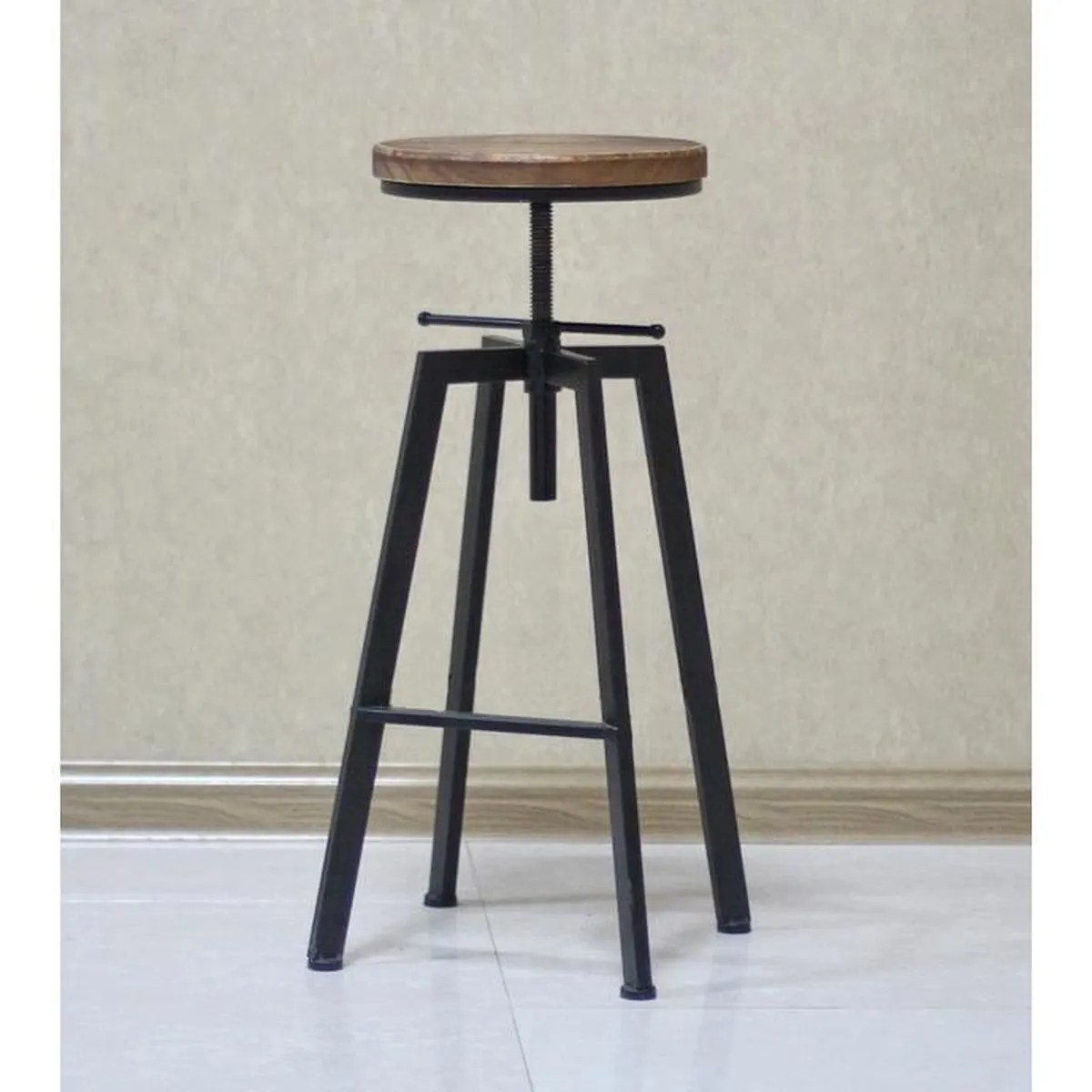 Lot De 2 Tabourets De Bar Smiley Tabouret De Bar Industriel Lot De 4 Achat Vente