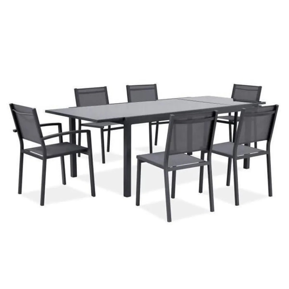 Table Salon De Jardin Extensible | Salon De Jardin Extensible Belle ...