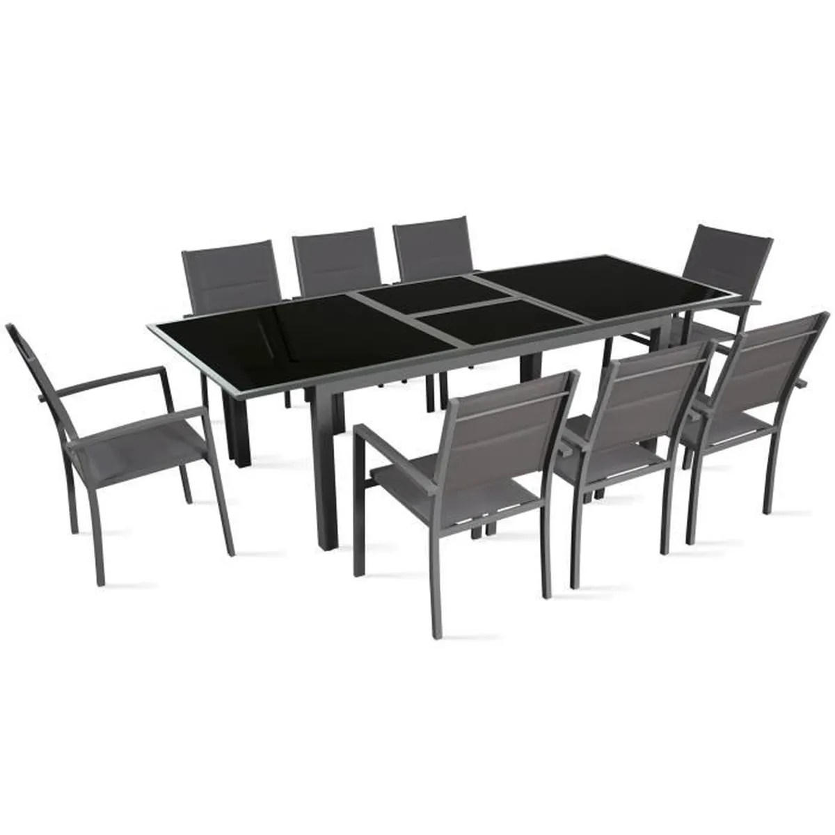 Happy Garden Salon De Jardin Table De Jardin 12 Personnes Achat Vente Table De