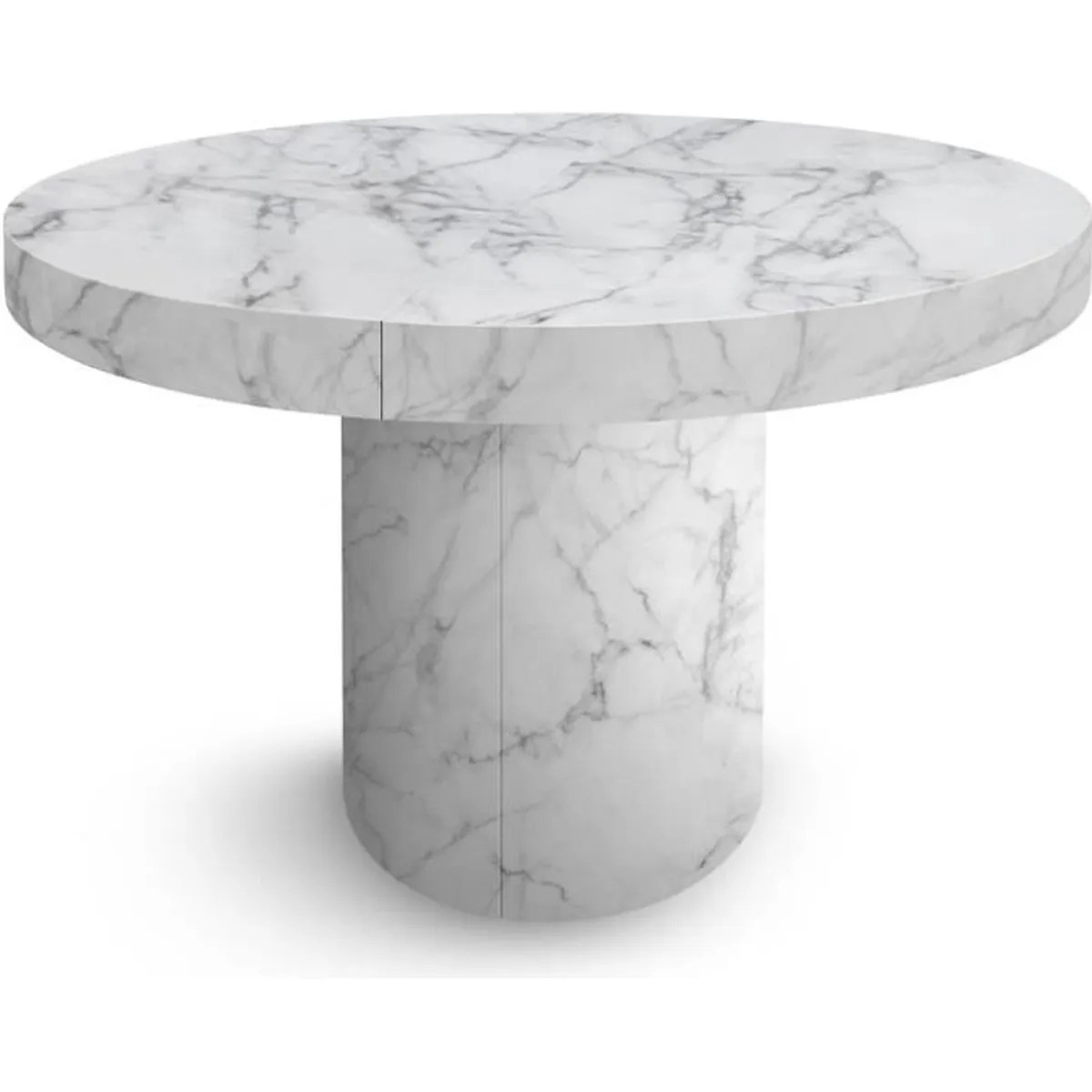 Table Pied Central Rallonge Table Ronde A Rallonge Pied Central Achat Vente Pas Cher