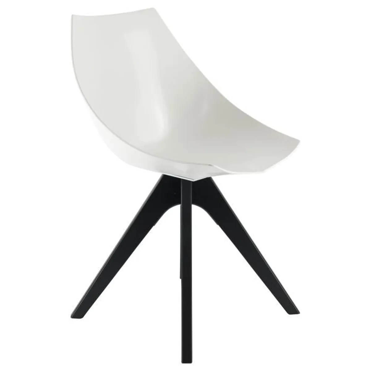 Chaises Privee Chaise Privee Chaise Cône Blanc Noyer Achat