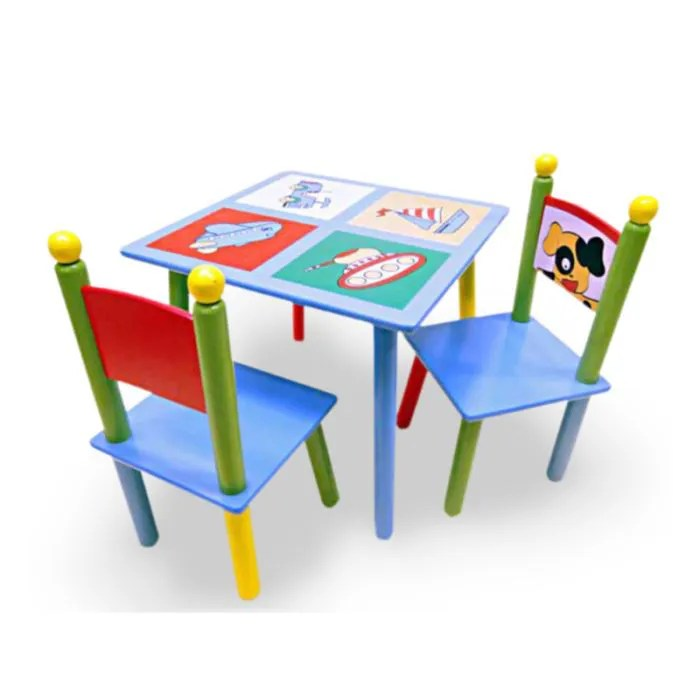 Table Et Chaise Cdiscount Ensemble Table + 2 Chaises Enfant - Achat / Vente Table