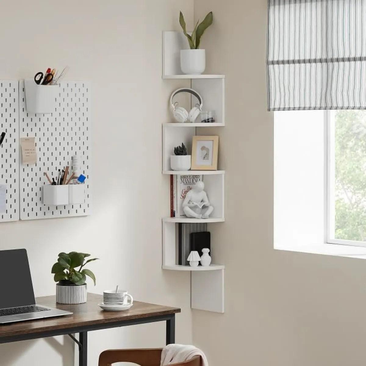 étagère Dangle Murale Chambre | Combinaison de rangement ...