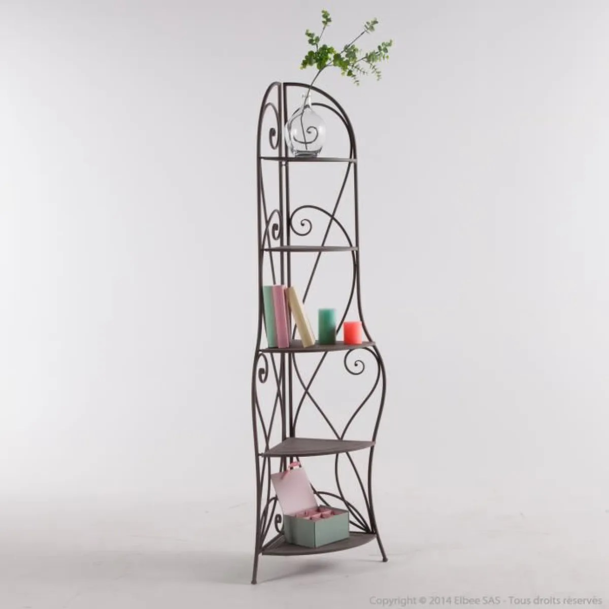 Petit Meuble Fer Forgé Etagere Angle Fer Forge Achat Vente Etagere Angle Fer