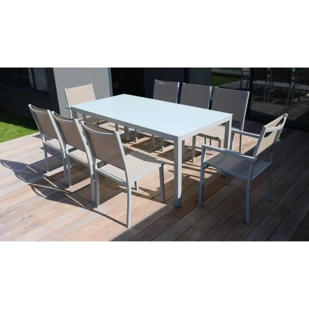 Ensemble Table Et Chaise De Jardin Aluminium Ensemble Table Et Chaise De Jardin Aluminium 8 Places Achat