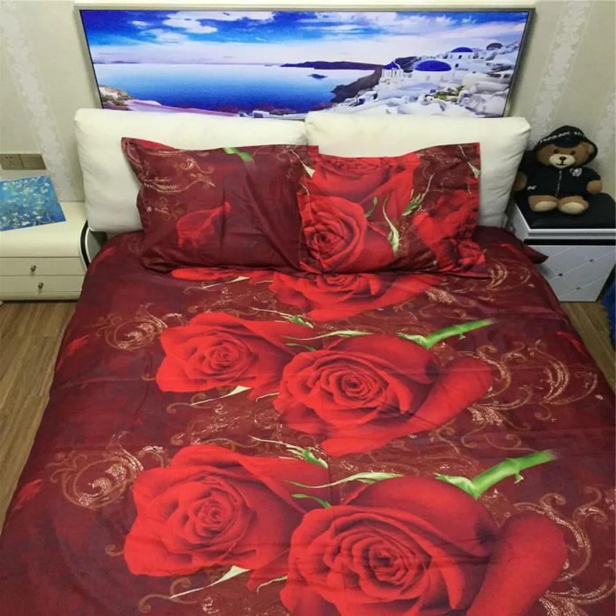 Housse De Couette Romantique Rose | Housse De Couette Romantique ...