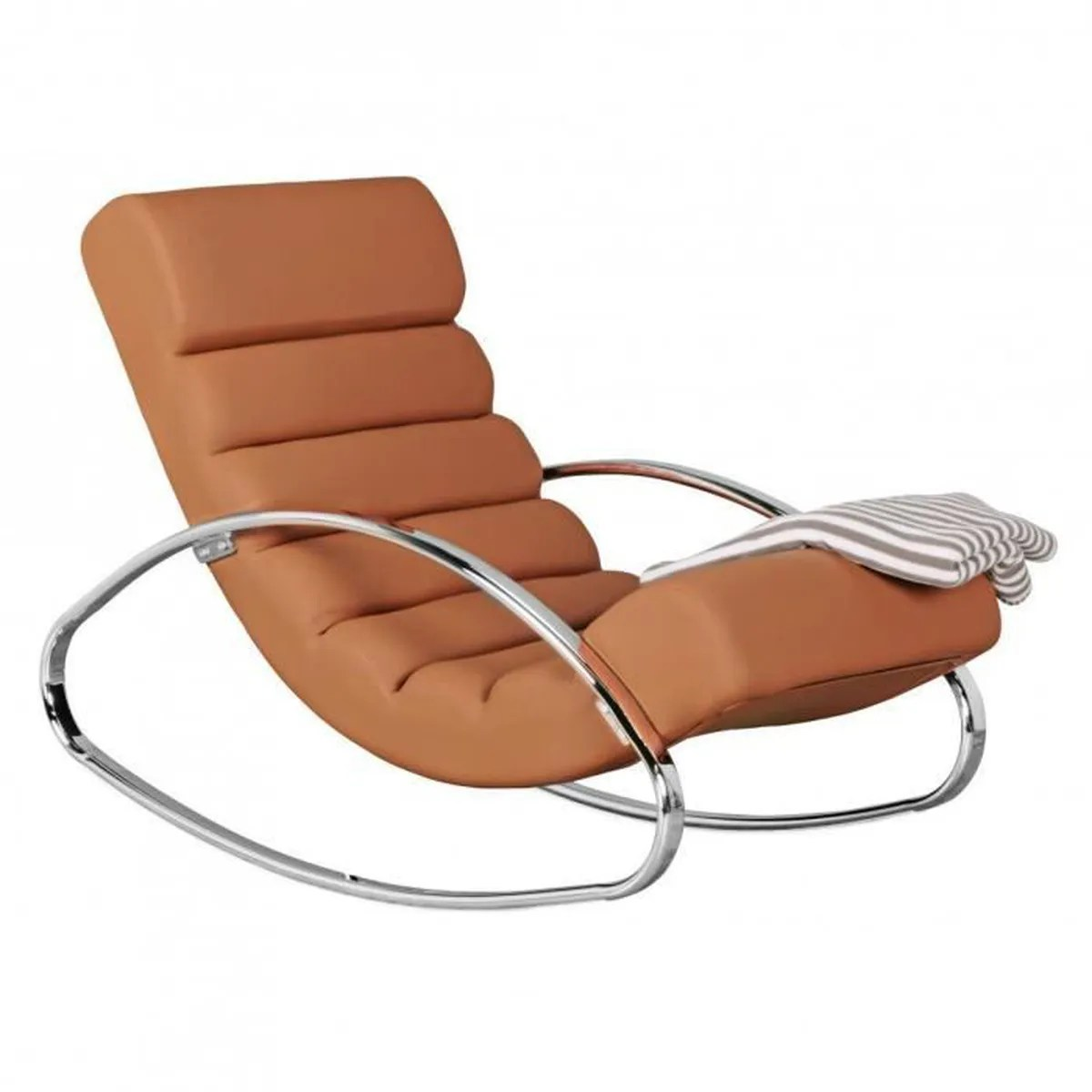 Fauteuil Inclinable Design Relax Fauteuil Inclinable Brun Relaxsessel Design Rocking Chair