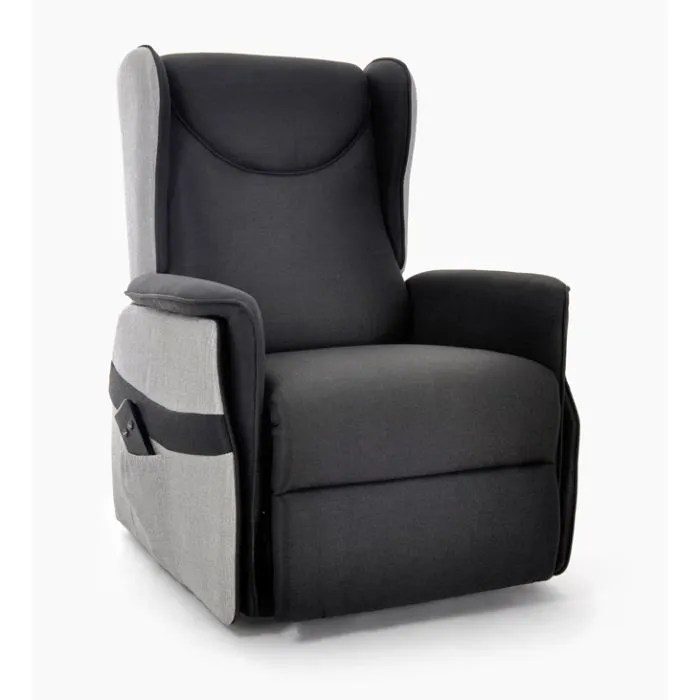 Siege Relaxant Fauteuil Relax Electrique Tissu Elevato Xxl - Achat