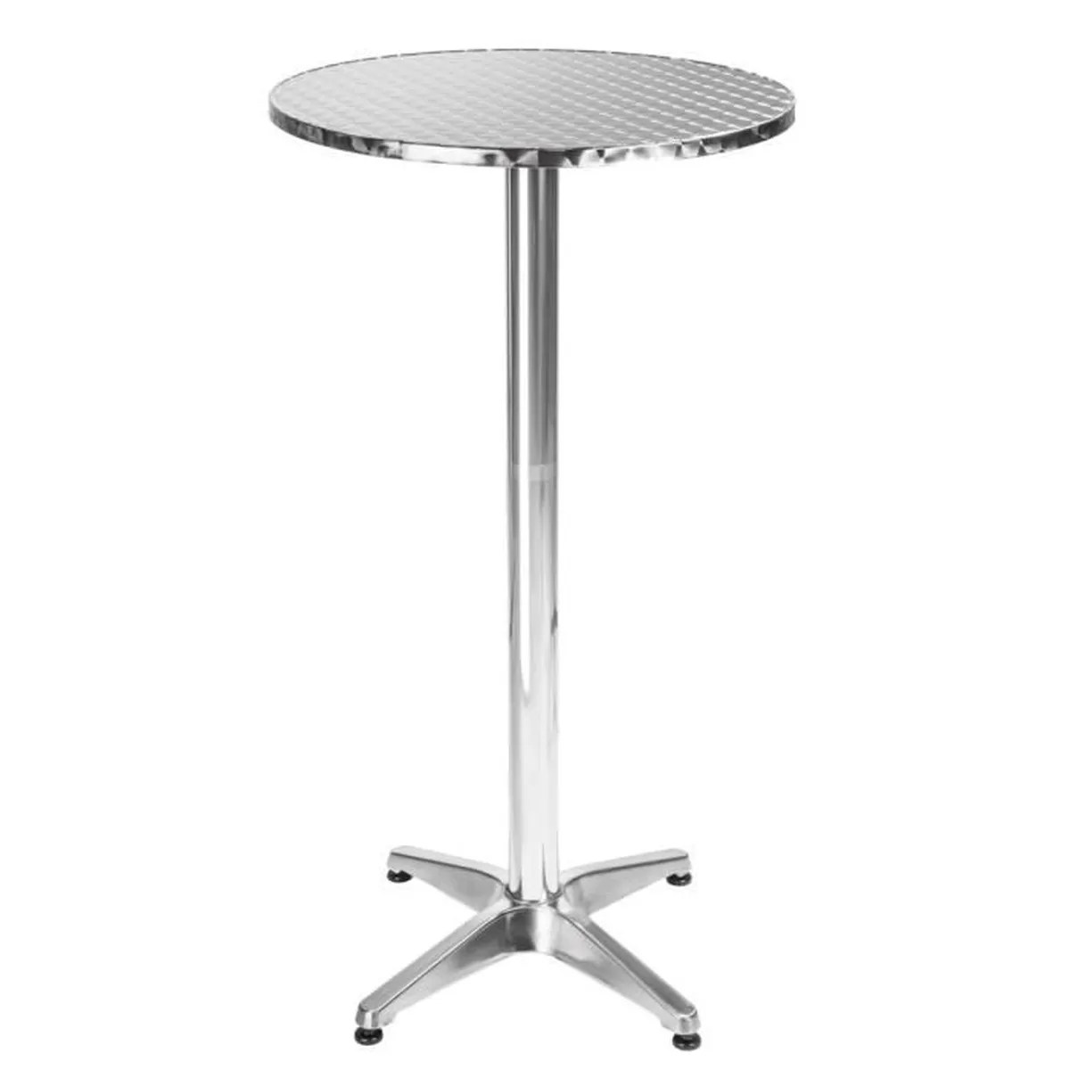 Mange Debout Teck Table De Bar Table De Bistro Table Haute Table De