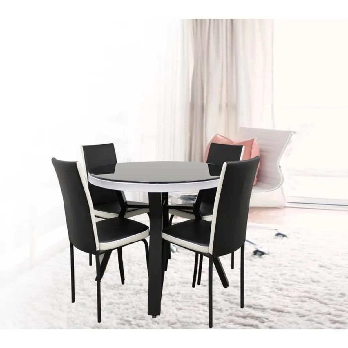 Table Avec Chaise Table Avec Chaise - Achat / Vente Table De Cuisine Table